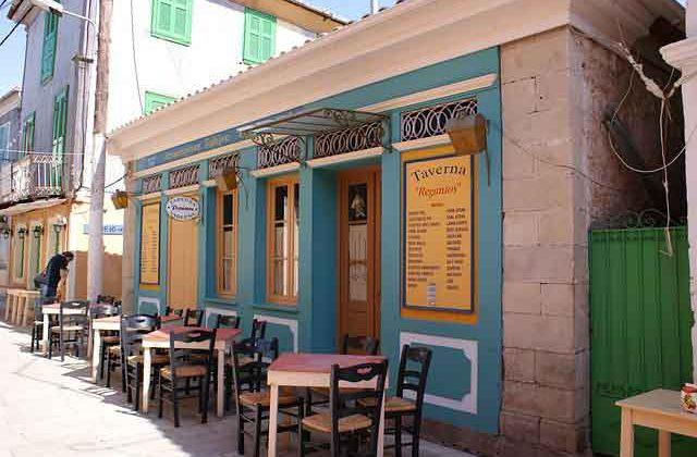 Griechische Taverne